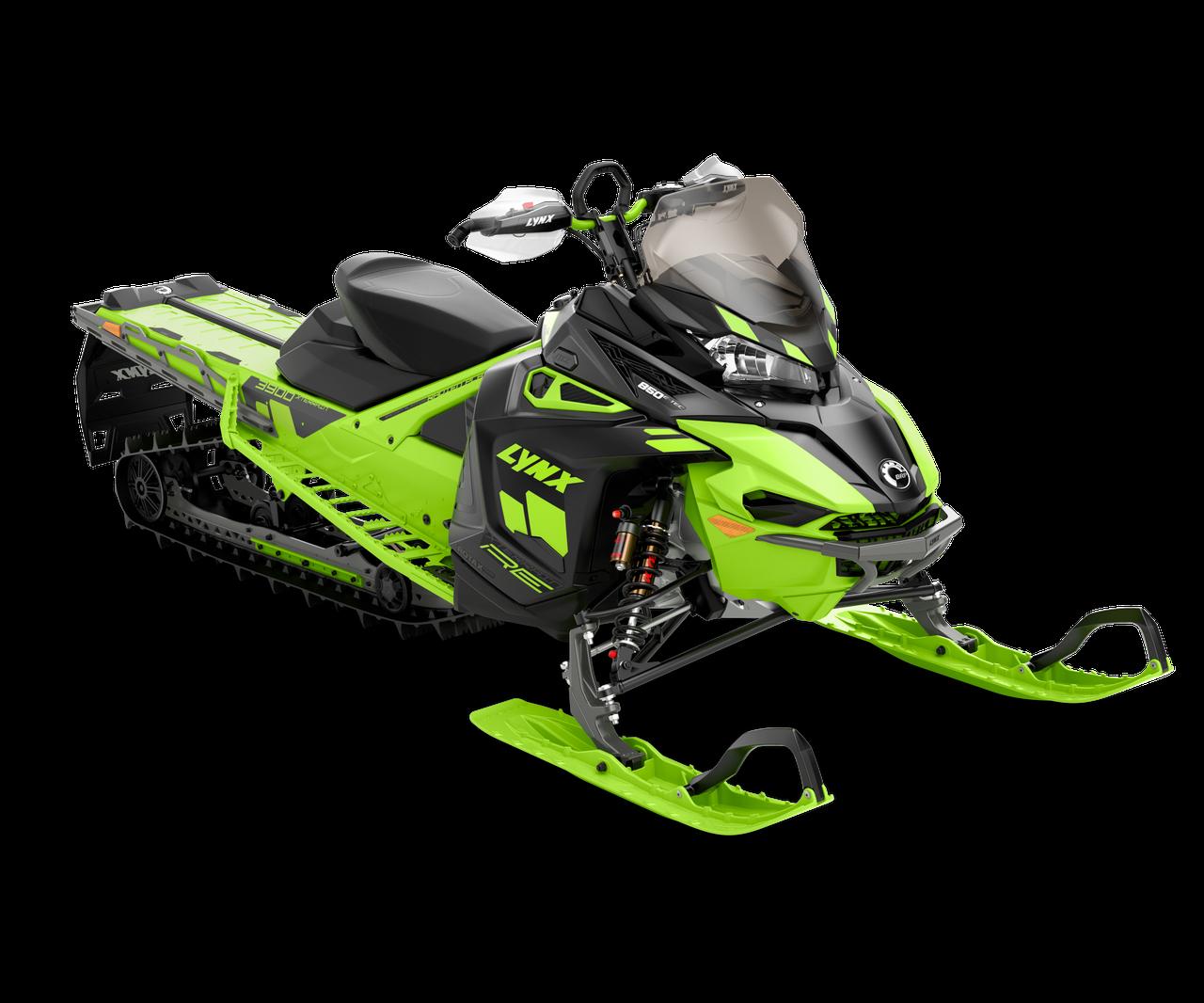 Снегоход XTerrain RE 3900 64mm 850 E-TEC Черно-зеленый 2021