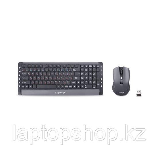 Комплект Клавиатура + Мышь X-Game, XD-7510OGB, Беспроводной