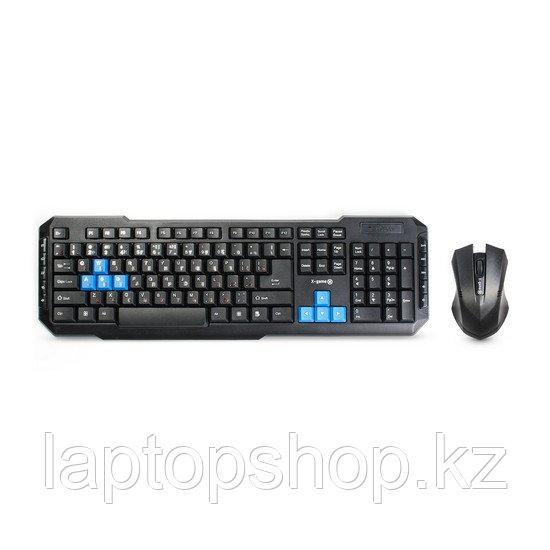 Комплект Клавиатура + Мышь X-Game XD-5040OGB, Беспроводной