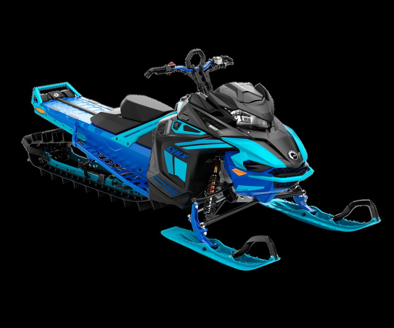 Снегоход Boondocker DS 3900 64 mm SHOT 850 E-TEC Черно-синий 2021