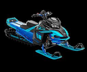 Снегоход Boondocker DS 3900 SHOT 850 E-TEC Черно-синий 2021