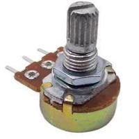 RES B100K  3pin 15mm d=17mm переменный резистор