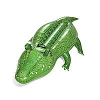 Надувная игрушка для катания верхом BESTWAY Крокодил 41010 (168х89см, Винил, С ручкой, Green), фото 1