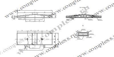 АР-7 анкерный ригель ж/б из с/стойкого цемента и с гидроизоляцией
