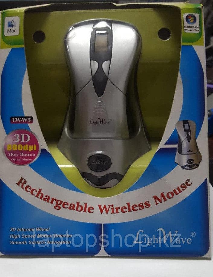Мышь беспроводная Mouse Lightwave Wireless LW-W5 Rechargeable, 800dpi
