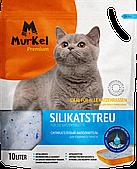 Впитывающий наполнитель Murkel для туалета кошек (Без аромата) - 10 л