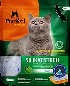 Впитывающий наполнитель Murkel для туалета кошек (Яблоко) - 4 л