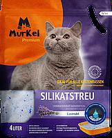 Впитывающий наполнитель Murkel для туалета кошек (Лаванда) - 4 л