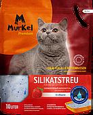 Впитывающий наполнитель Murkel для туалета кошек (Клубника) - 10 л