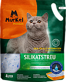Впитывающий наполнитель Murkel для туалета кошек (Луговые травы) - 4 л
