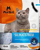 Силикагелевый наполнитель Murkel для кошачьего туалета (нейтральный) - 1.8 кг / 4л