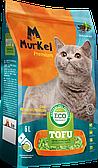 Комкующийся наполнитель Тофу Murkel для кошачьего туалета (Зеленый чай) - 2.5 кг / 6л
