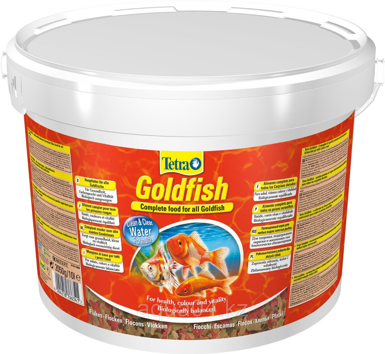 Tetra Goldfish 10 л. (ведро) хлопья