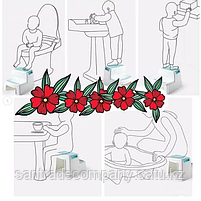 Подставка  для ног  детская(к раковине,унитазу,зеркалу), фото 2