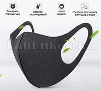 Многоразовая маска с защитой от холода и пыли Fashion mask черная