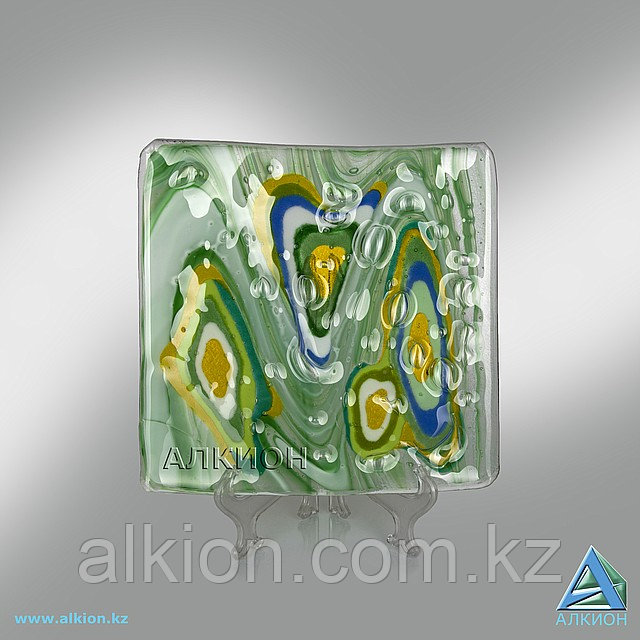 Стеклянная тарелка (Сувенир) -арт. AF 0024 001