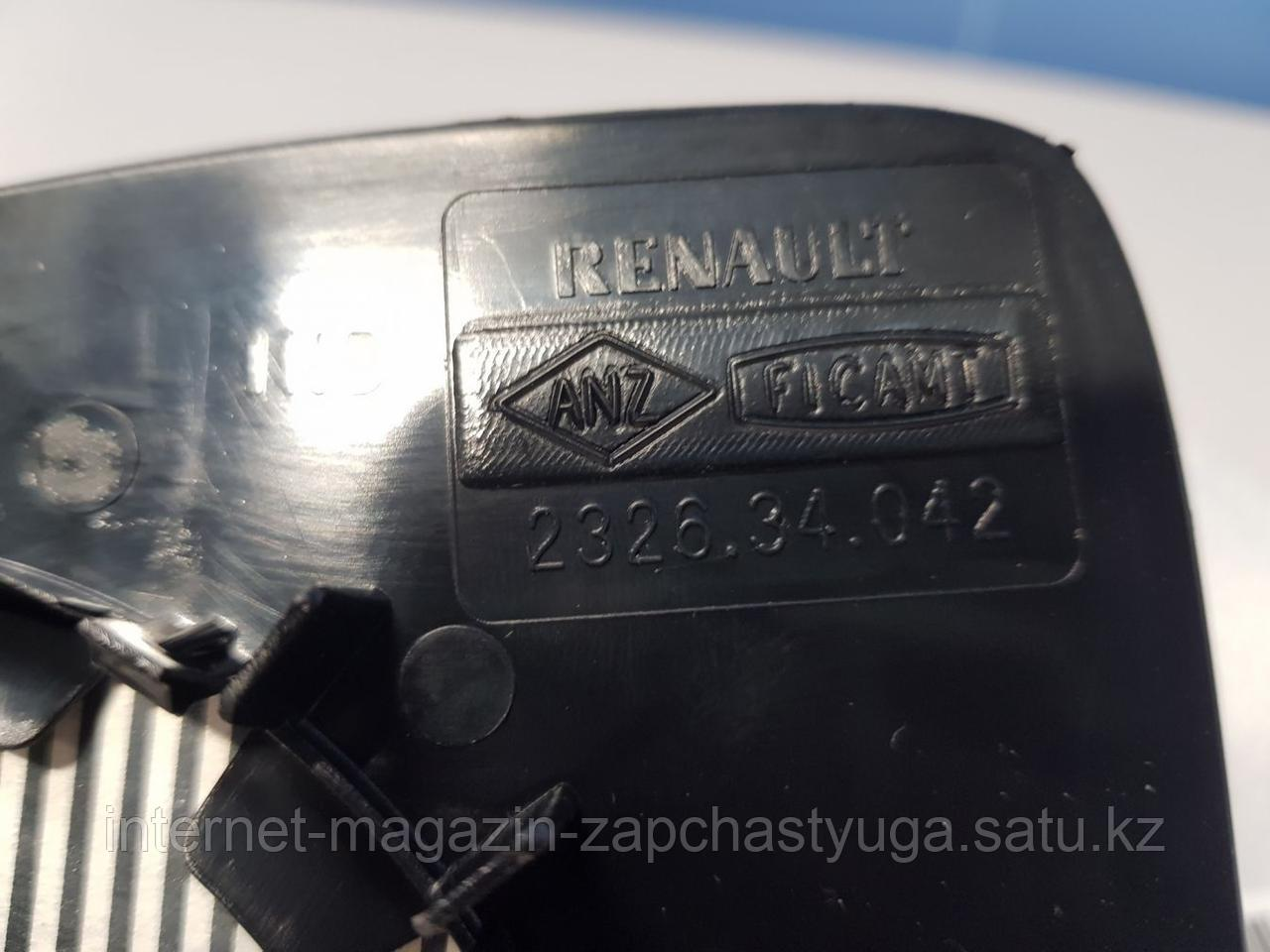 963659182R Зеркальный элемент правый для Renault Logan 2 2014- Б/У - фото 3