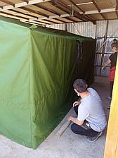 Брезентовая палатка армейская 3*4