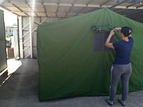 Палатка брезентовая 3*4