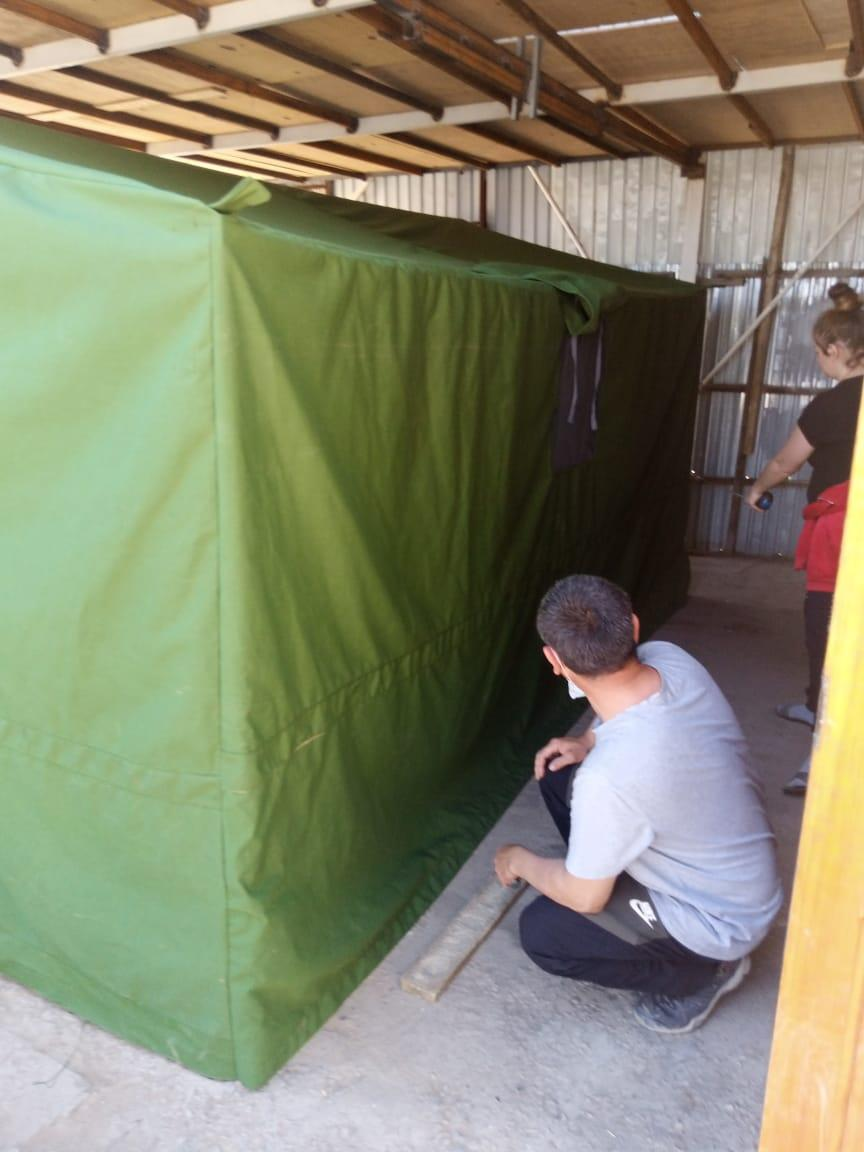 Палатка брезентовая 3*6
