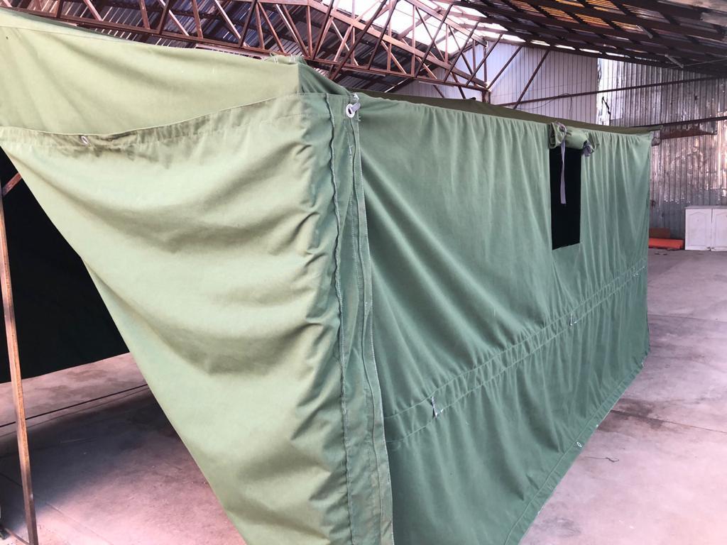 Брезентовая палатка армейская /10-12 человек