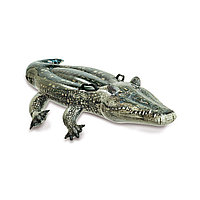 Надувная игрушка для катания верхом Аллигатор INTEX 57551NP Винил