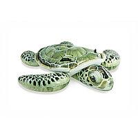 Надувная игрушка для катания верхом INTEX Черепаха 57555NP (191х170см, Винил, Двухкамерная)