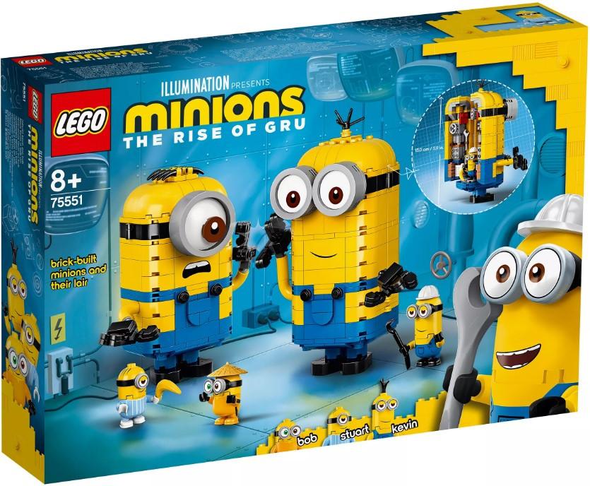75551 Lego Minions Фигурки миньонов и их дом, Лего Миньоны