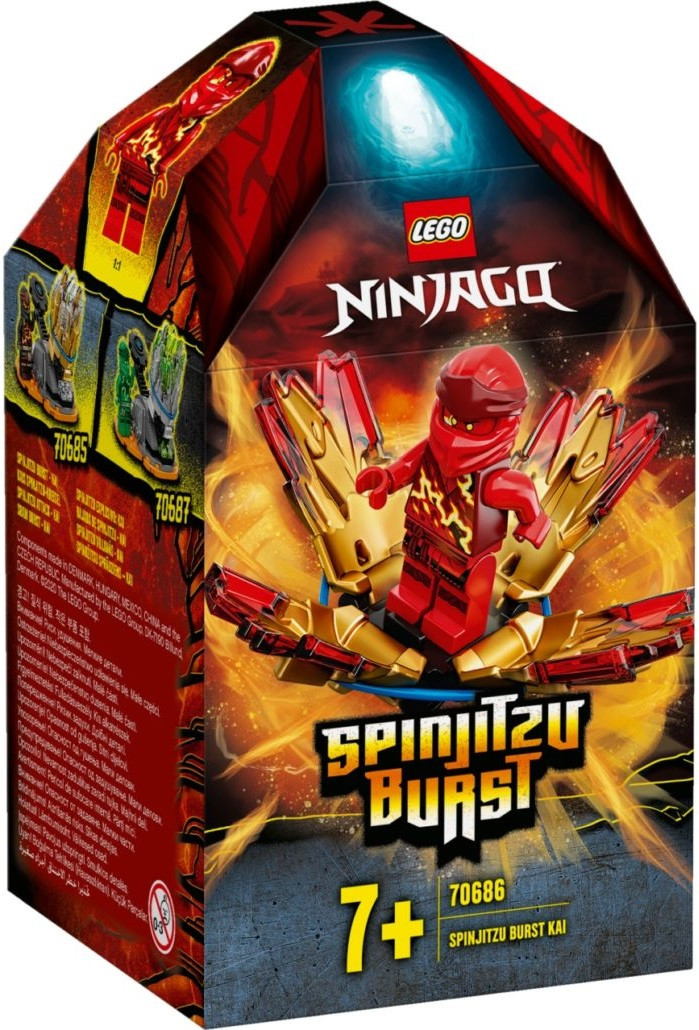 70686 Lego Ninjago Шквал Кружитцу — Кай, Лего Ниндзяго