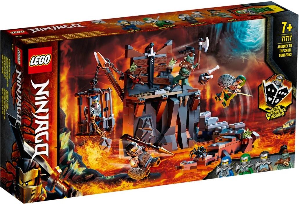 71717 Lego Ninjago Путешествие в Подземелье черепа, Лего Ниндзяго
