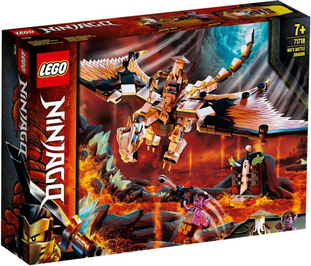 71718 Lego Ninjago Боевой дракон Мастера Ву, Лего Ниндзяго
