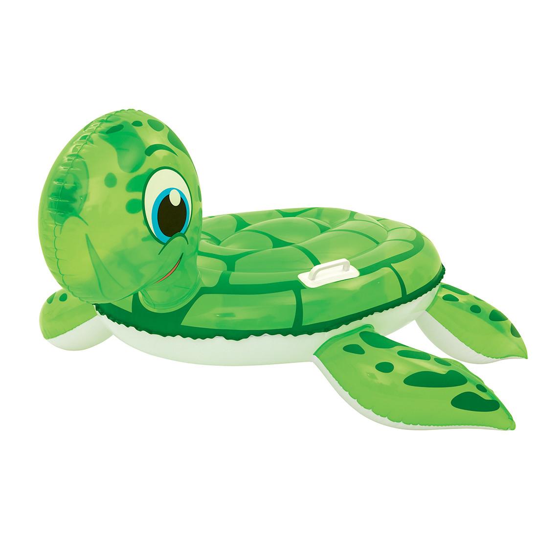 Надувная игрушка для катания верхом BESTWAY Черепаха 41041 (140х140 см, Винил, Green)