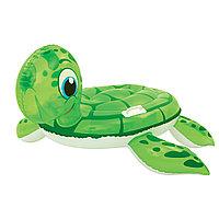 Надувная игрушка для катания верхом BESTWAY Черепаха 41041 (140х140 см, Винил, Green), фото 1