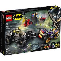76159 Lego Super Heroes Побег Джокера на трицикле, Лего Супергерои DC