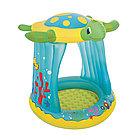 Детский надувной бассейн BESTWAY Turtle Totz 2+ 52219 (109х96х104 см, Винил, 26 л.)