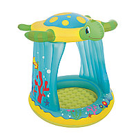 Детский надувной бассейн BESTWAY Turtle Totz 2+ 52219 (109х96х104 см, Винил, 26 л.), фото 1