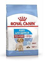 Medium Puppy. Корм для щенков средних пород (вес взрослой собаки от 11 до 25 кг) в возрасте от 2 до 12 месяце