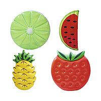 Пляжный матрас для плавания BESTWAY Summer Fruit Фрукты 43159 (174х96см, Винил), фото 1