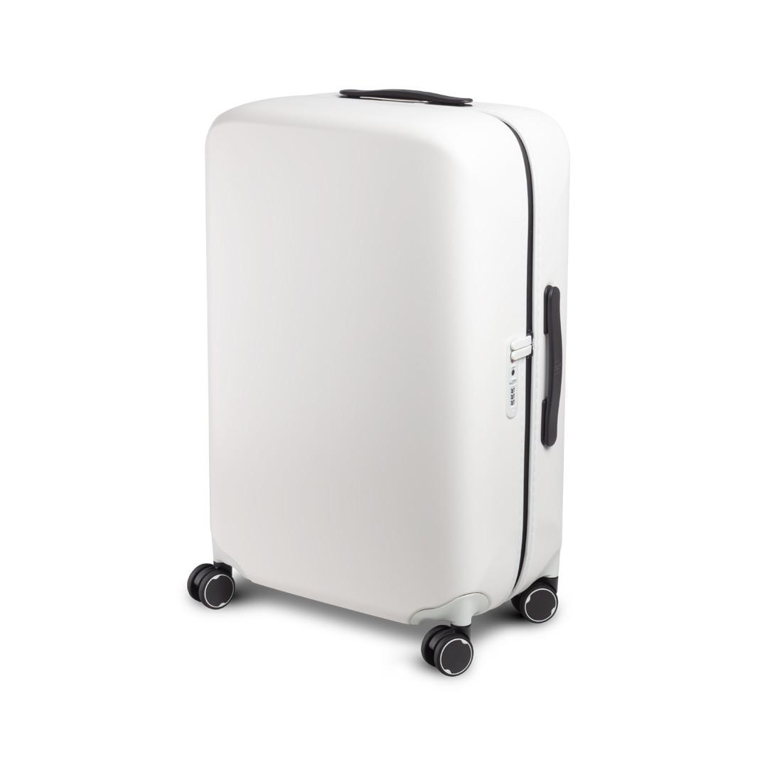"""Чемодан Xiaomi Mi Trolley RunMi 90 PC Suitcase 24"""" (6972125143402, 65 л, White)"""