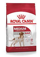 Medium Adult для собаки средних размеров от 11 до 25 кг в возрасте от 1 до 7 лет. 15 кг/уп