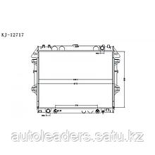 Радиатор охлаждения на Toyota Fortuner 2012-2015 гг.