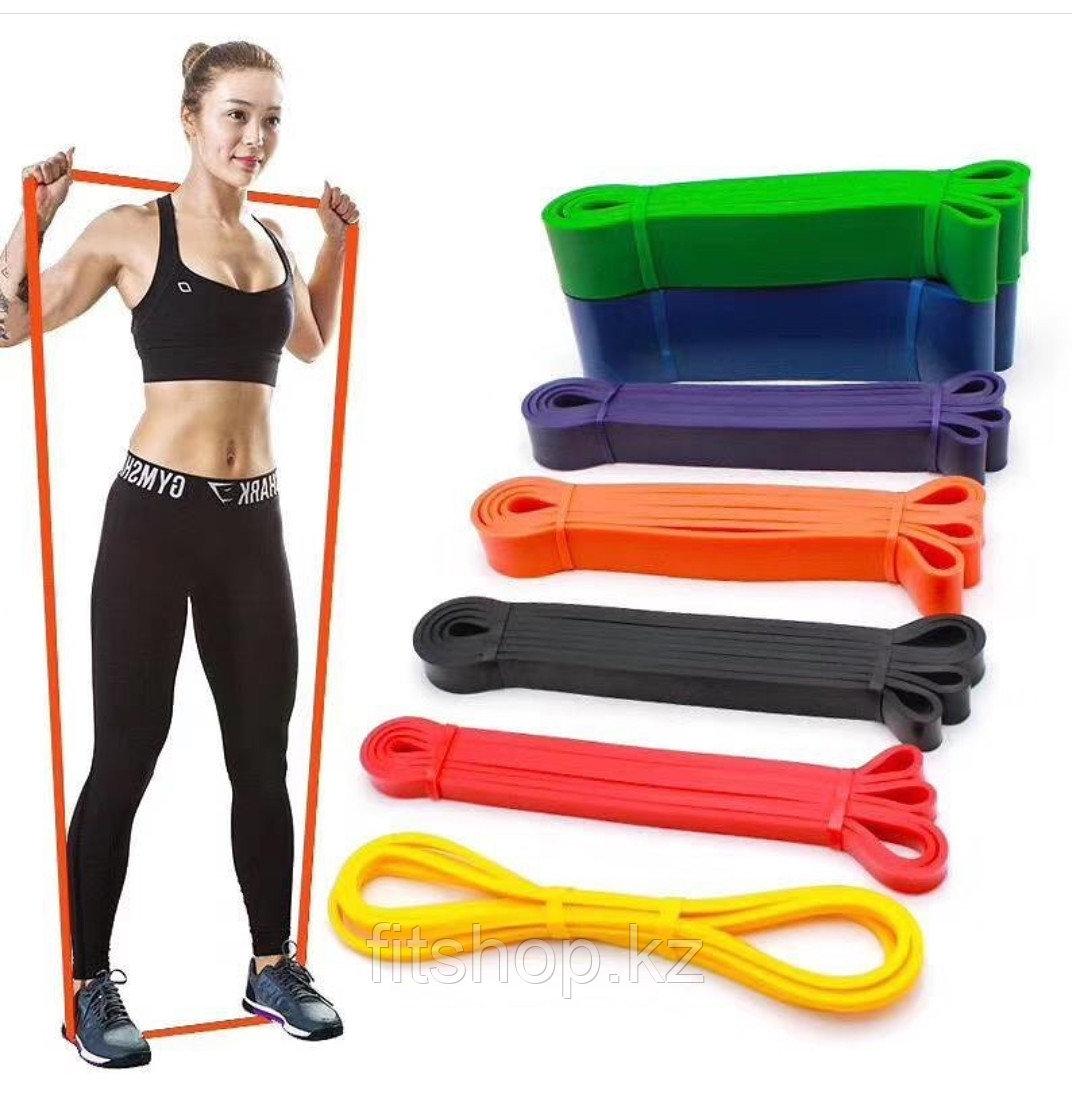 Резиновая лента для фитнеса Power Band в ассортименте