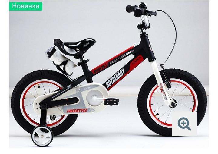 Детский велосипед Royal Baby №1 STEEL 16  BLACK