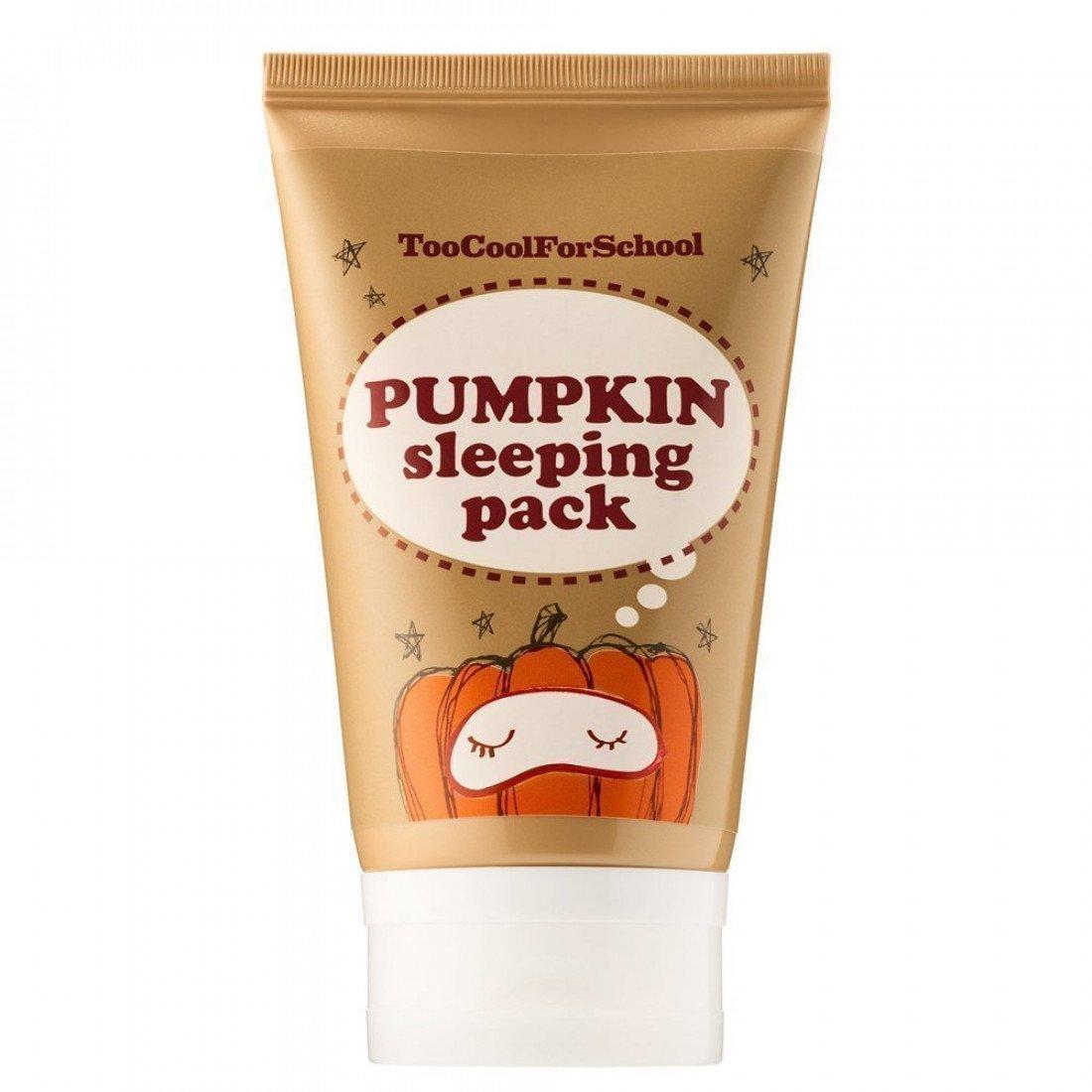 Энзимная ночная маска с тыквой Too Cool For School Pumpkin Sleeping Pack (30мл)