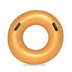 Круг для плавания BESTWAY Gold 10+ 36127 (91см, Винил, С ручками, Gold)