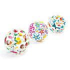 Надувной пляжный мяч INTEX Lively Print 3+ 59040NP (51см, Винил)