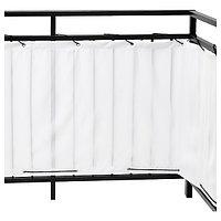 Балконный экран ДИНИНГ белый, 250x80 см IKEA, ИКЕА