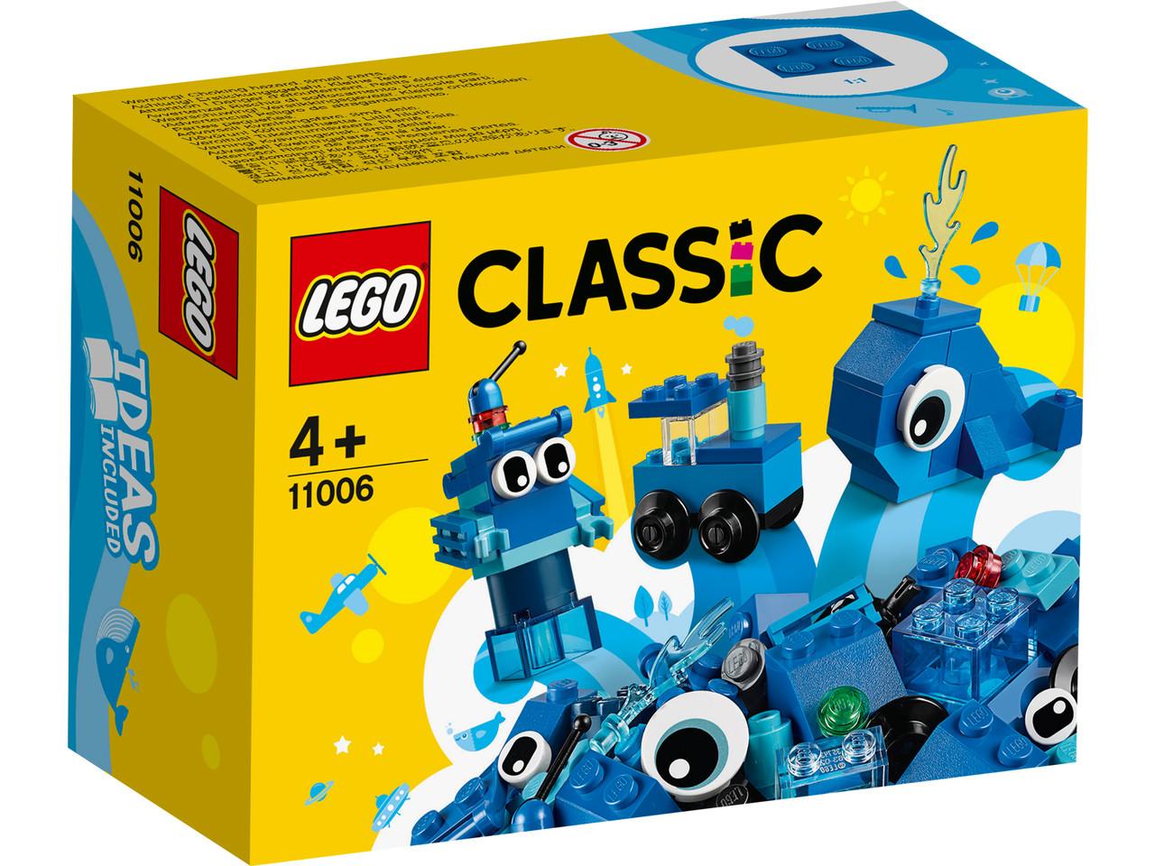 LEGO Classic 11006 Синий набор для конструирования, конструктор ЛЕГО - фото 2