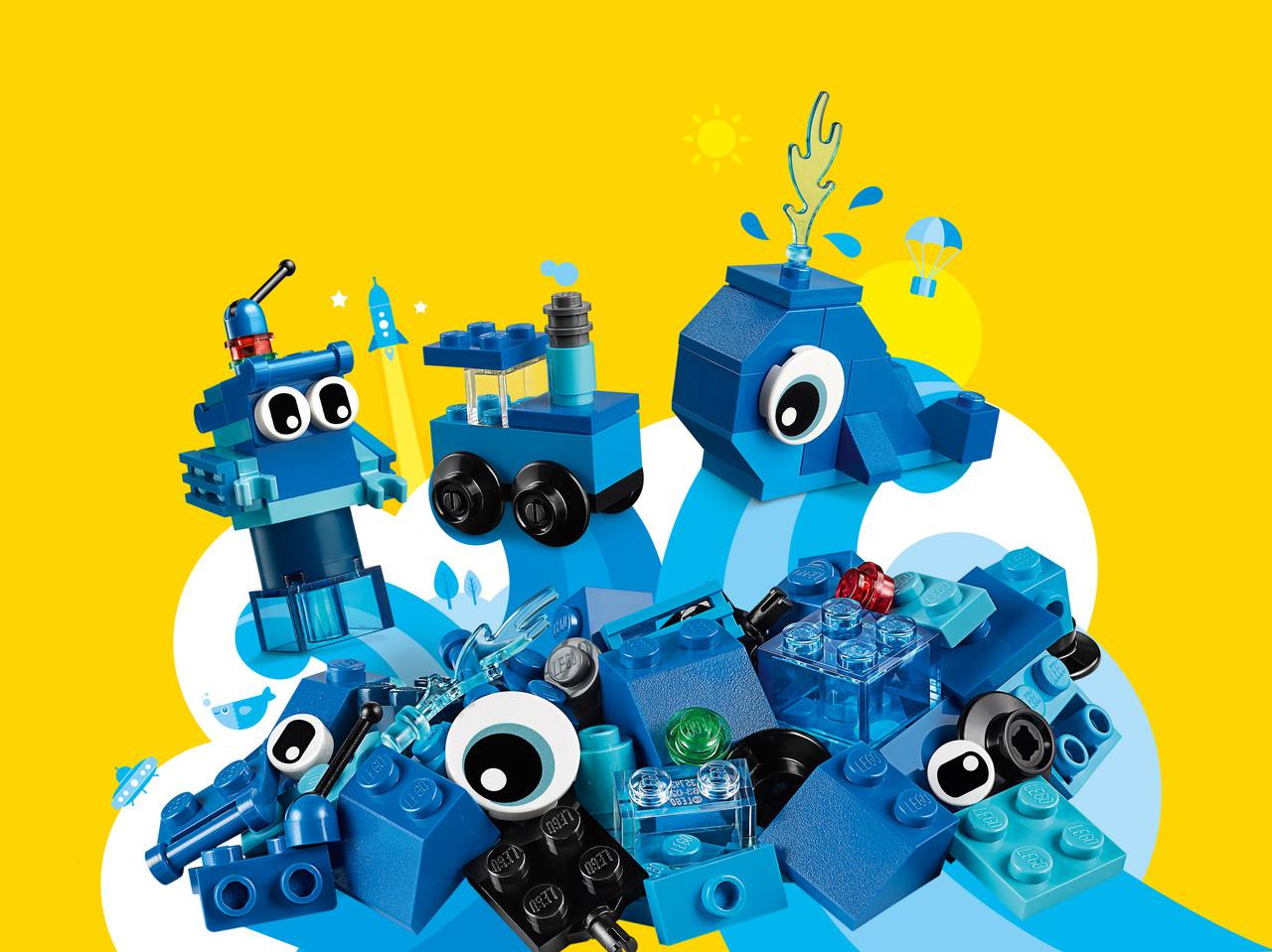 LEGO Classic 11006 Синий набор для конструирования, конструктор ЛЕГО - фото 1