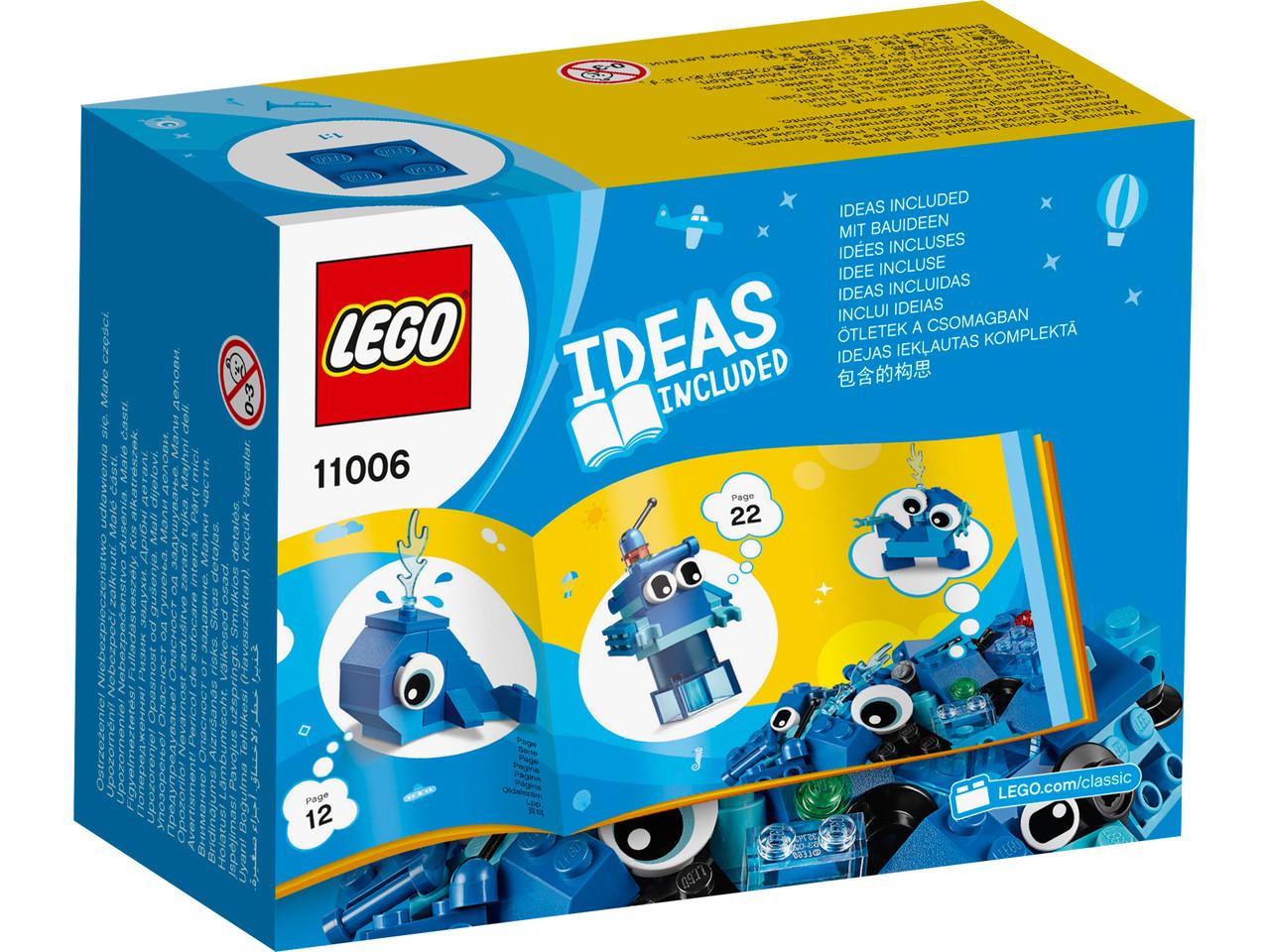 LEGO Classic 11006 Синий набор для конструирования, конструктор ЛЕГО - фото 4